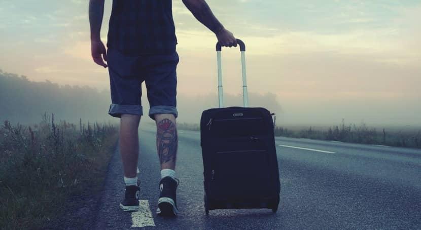 viajando con una de las mejores marcas de maletas