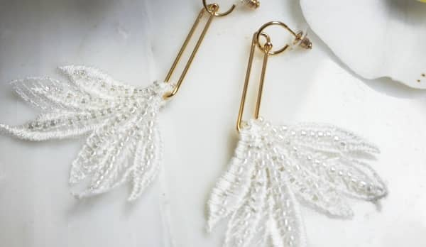 pendientes de novia baratos