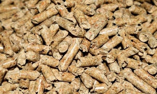combustible para estufas de pellets
