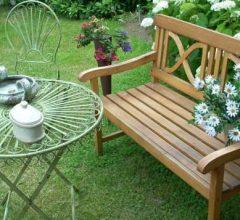 banco de jardín
